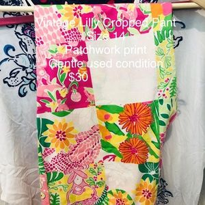 Lilly Pulitzer Cropped Pant